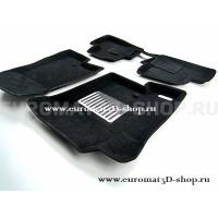 Текстильные 3D коврики Euromat3D Lux в салон для Dodge Caliber № EM3D-002501