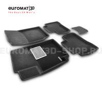 Текстильные 3D коврики Euromat3D Lux в салон для Suzuki Grand Vitara (2005-) № EM3D-004801