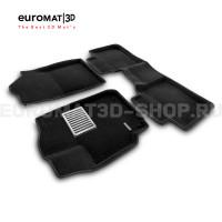Текстильные 3D коврики Euromat3D Lux в салон для Toyota Camry V40 (2006-2011) № EM3D-005104