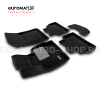 Текстильные 3D коврики Euromat3D Business в салон для Bmw X3 (F25) (2010-2017) № EMC3D-001210