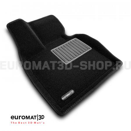 Текстильные 3D коврики Euromat3D Business в салон для Bmw X5 (E70) (2008-2014) № EMC3D-001212