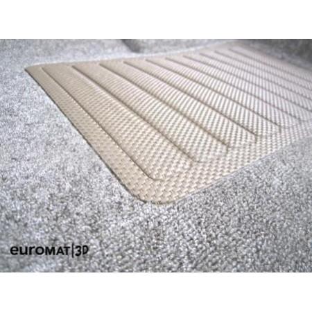Текстильные 3D коврики Euromat3D Business в салон для Bmw X5 (E70) (2008-2014) № EMC3D-001212T Бежевые