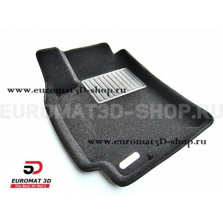 Текстильные 3D коврики Euromat3D Business в салон для Chevrolet Lacetti (2004-) № EMC3D-001506