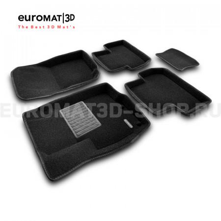 Текстильные 3D коврики Euromat3D Business в салон для Citroen C4 Aircross № EMC3D-003600