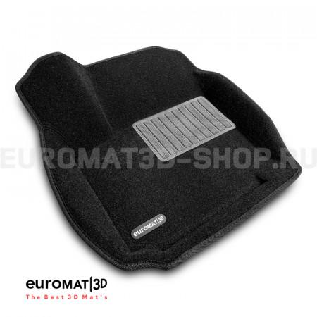 Текстильные 3D коврики Euromat3D Business в салон для Ford Mondeo (2007-2014) № EMC3D-002211