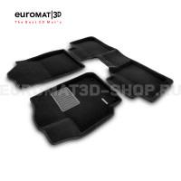 Текстильные 3D коврики Euromat3D Business в салон для Toyota Camry V50 (2011-2017) № EMC3D-005104