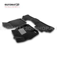 Текстильные 3D коврики Euromat3D Business в салон для Toyota Land Cruiser 200 (2007-2012) № EMC3D-005118