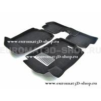 Текстильные 3D коврики Euromat3D Lux в салон для Chevrolet Aveo (2012-) № EM3D-001501