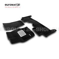Текстильные 3D коврики Euromat3D Lux в салон для Land Rover Range Rover Sport L494 (2014-) № EM3D-003109