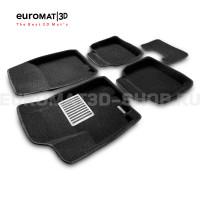 Текстильные 3D коврики Euromat3D Lux в салон для Suzuki Sх4 (2014-) № EM3D-004802