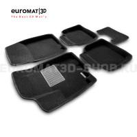 Текстильные 3D коврики Euromat3D Business в салон для Suzuki Sх4 (2014-) № EMC3D-004802