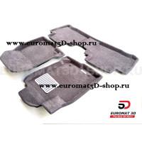 Текстильные 3D коврики Euromat3D Lux в салон для Lexus NX (2014-) № EM3D-003211G Серые