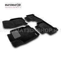 Текстильные 3D коврики Euromat3D Business в салон для Lexus NX (2014-) № EMC3D-003211