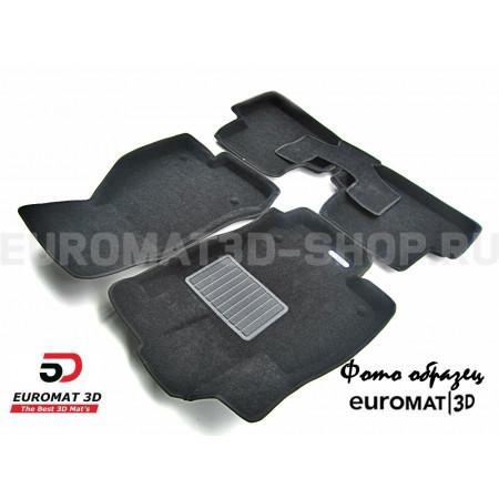 Текстильные 3D коврики Euromat3D Business в салон для Audi TT (2014-) № EMC3D-001106