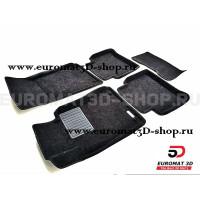Текстильные 3D коврики Euromat3D Business в салон для Mercedes E-Class (W211) (2002-2009) № EMC3D-003520