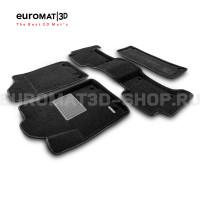 Текстильные 3D коврики Euromat3D Business в салон для Nissan Patrol (2010-) № EMC3D-002813