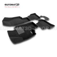 Текстильные 3D коврики Euromat3D Business в салон для Skoda Yeti (2009-) № EMC3D-004511