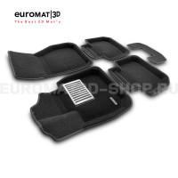 Текстильные 3D коврики Euromat3D Lux в салон для Bmw X1 (F48) № EM3D-001220