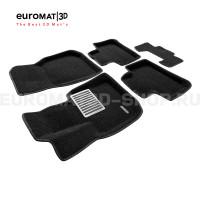 Текстильные 3D коврики Euromat3D Lux в салон для Bmw X3 (G01) (2017-) № EM3D-001222