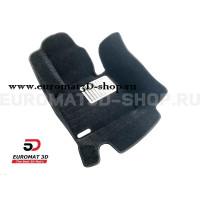 Текстильные 5D коврики с высоким бортом Euromat3D в салон для Bmw X3 (F25) (2010-2017) № EM5D-001210