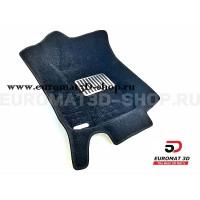Текстильные 5D коврики с высоким бортом Euromat3D в салон для Ford Focus 3 (2011-) № EM5D-002207