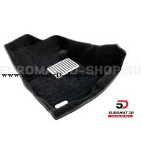 Текстильные 5D коврики с высоким бортом Euromat3D в салон для Mitsubishi Outlander XL (2006-2012) № EM5D-003609