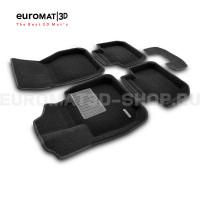 Текстильные 3D коврики Euromat3D Business в салон для Bmw X2 (F39) (2018-) № EMC3D-001220