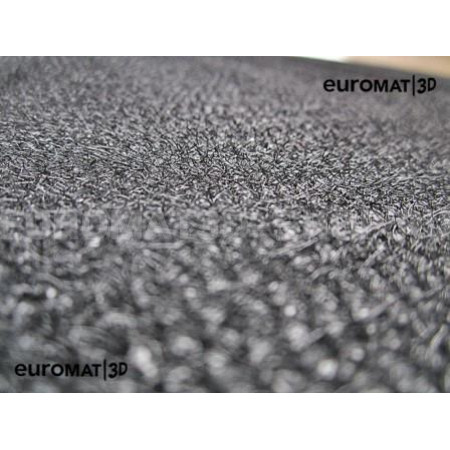 Текстильные 3D коврики Euromat3D Business в салон для Audi Q8 (2018-) № EMC3D-001108T Бежевые