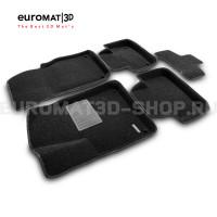 Текстильные 3D коврики Euromat3D Premium в салон для Audi Q8 (2018-) № EMPR3D-001108