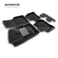 Текстильные 3D коврики Euromat3D Premium в салон для Land Rover Range Rover Velar (2017-) № EMPR3D-002753