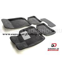 Текстильные 3D коврики Euromat3D Business в салон для Mercedes E-Class (W212) (2009-2016) № EMC3D-003505G Серые