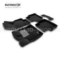 Текстильные 3D коврики Euromat3D Premium в салон для Skoda Superb NEW (2015-) № EMPR3D-004510