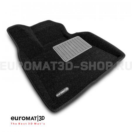 Текстильные 3D коврики Euromat3D Business в салон для Bmw X7 (G07) (2019-) № EMC3D-001226