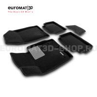 Текстильные 3D коврики Euromat3D Business в салон для Kia K5 (2020-) № EMC3D-002708
