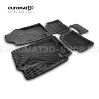 3D коврики Euromat3D EVA в салон для Kia Rio (2011-2016) № EM3DEVA-002922