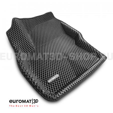 3D коврики Euromat3D EVA в салон для Ford Focus 2 (2005-2011) № EM3DEVA-002214