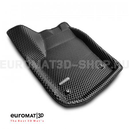 3D коврики Euromat3D EVA в салон для Volkswagen Polo (2010-2020) № EM3DEVA-005416