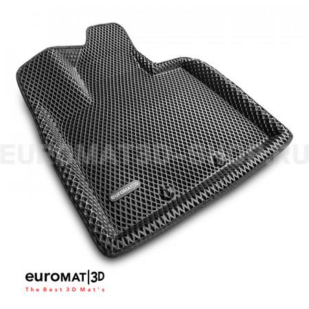 3D коврики Euromat3D EVA в салон для Kia Sorento (2013-2019) № EM3DEVA-002919