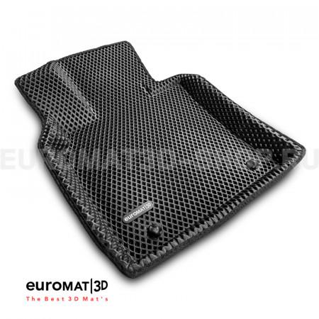 3D коврики Euromat3D EVA в салон для Toyota Camry XV70 (2018-) № EM3DEVA-005101