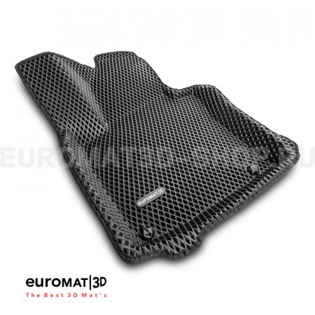 3D коврики Euromat3D EVA в салон для Seat Altea (2005-2009) № EM3DEVA-004502