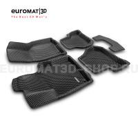 3D коврики Euromat3D EVA в салон для Seat Leon (2005-2012) № EM3DEVA-004502