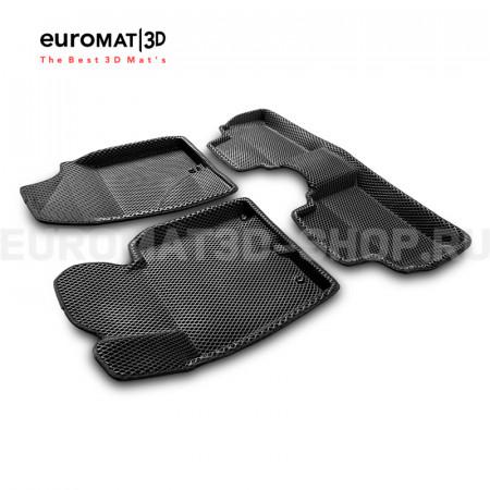 3D коврики Euromat3D EVA в салон для Kia Ceed (2012-2018) № EM3DEVA-002706
