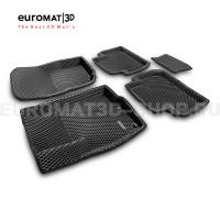 3D коврики Euromat3D EVA в салон для Mitsubishi Outlander XL (2006-2012) № EM3DEVA-003609