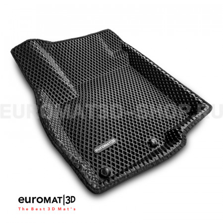 3D коврики Euromat3D EVA в салон для Peugeot 4007 № EM3DEVA-003609