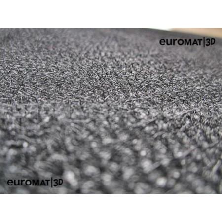 Текстильные 3D коврики Euromat3D Business в салон для Audi A7 (2019-) № EMC3D-001111G Серые