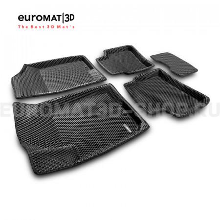 3D коврики Euromat3D EVA в салон для Kia Cerato (2010-2013) № EM3DEVA-002722