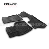 3D коврики Euromat3D EVA в салон для Bmw X6 (E71) (2008-2014) № EM3DEVA-001212