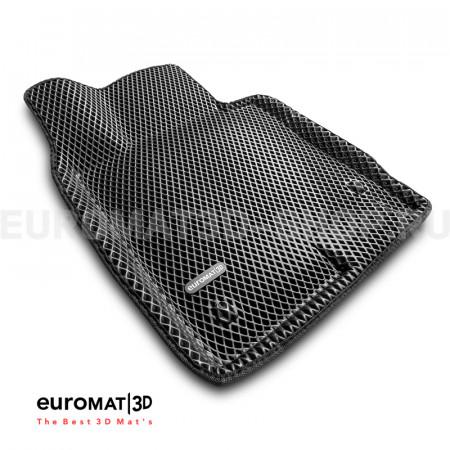 3D коврики Euromat3D EVA в салон для Hyundai Sonata (2020-) № EM3DEVA-002708