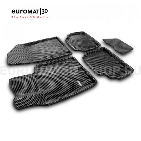 3D коврики Euromat3D EVA в салон для Kia K5 (2020-) № EM3DEVA-002708