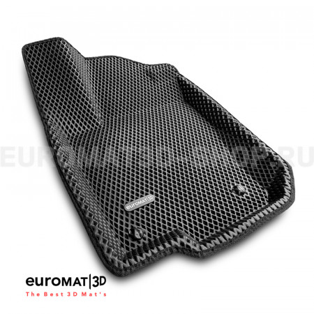 3D коврики Euromat3D EVA в салон для Mercedes GL-Class (X164) (2006-2012) № EM3DEVA-003501